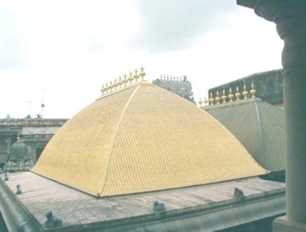 chidambaram_temple golden roof
